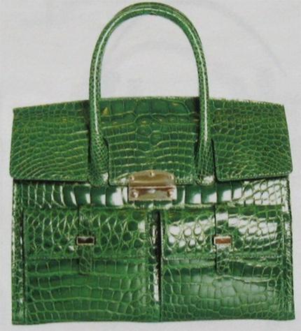 """Смысловая структура вещи """" на примере сумки из крокодильей кожи  """"RASCHINI."""